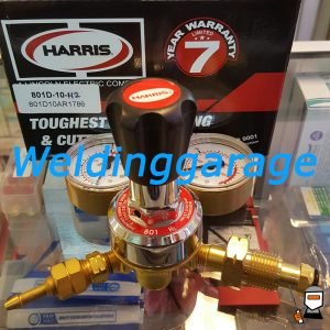 Jual Regulator HARRIS 801 HIDROGEN (H2) 10 Bar - Weldinggarage