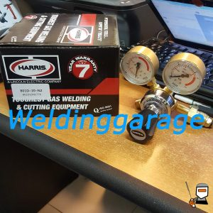 Jual Regulator Harris 801 Nitrogen (N2) 10 Bar - Weldinggarage