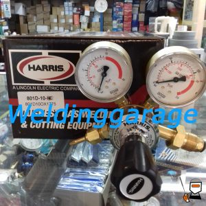 Jual Regulator Harris 801 Helium (HE) 10 Bar - Weldinggarage